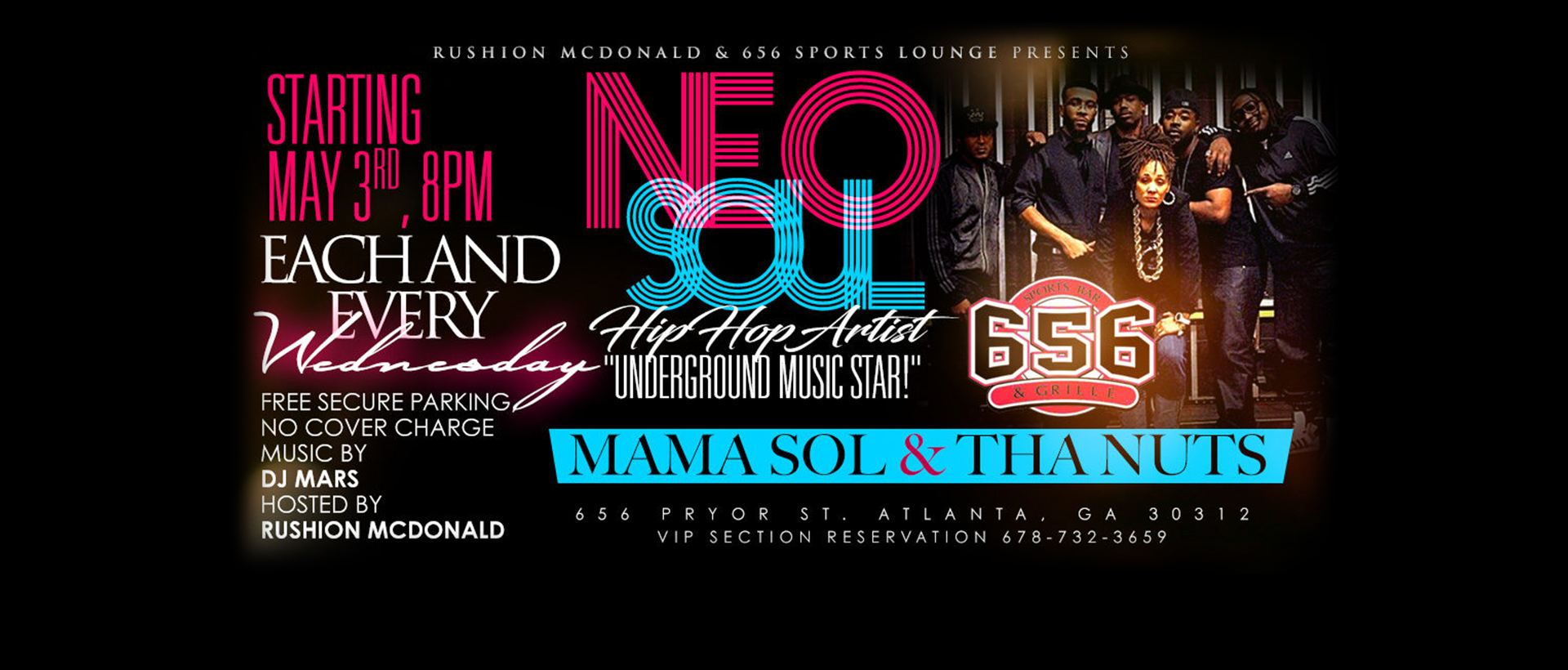 Neo Soul<br/>Starting May 3rd at 8PM